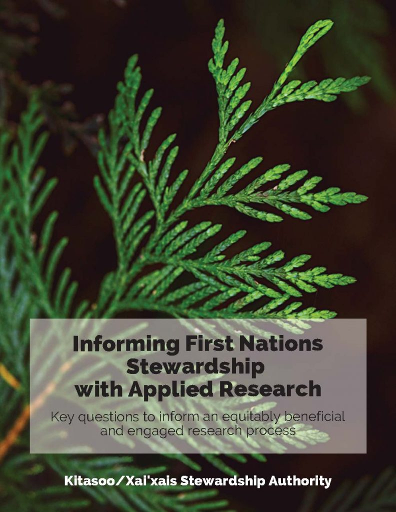 Informing Stewardship with Applied Research